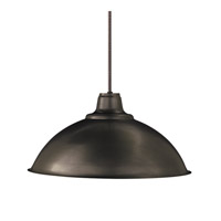 Hudson Valley Lighting Metalics 1 Light Pendant in Old Bronze 3936-OB