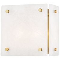 Hudson Valley 4002-AGB Paladino 2 Light Aged Brass Wall Sconce Wall Light
