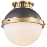 Hudson Valley 4009-ADB Latham 1 Light 10 inch Aged / Antique Distressed Bronze Flush Mount Ceiling Light