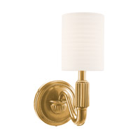Hudson Valley Lighting Tuilerie 1 Light Wall Sconce in Aged Brass 401-AGB