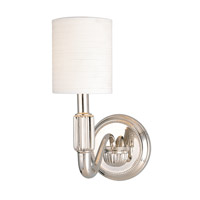 Hudson Valley Lighting Tuilerie 1 Light Wall Sconce in Polished Nickel 401-PN