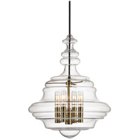 Washington 4 Light 16 inch Aged Brass Pendant Ceiling Light