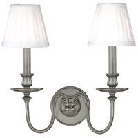 Hudson Valley Lighting Menlo Park 2 Light Wall Sconce in Antique Nickel 4022-AN