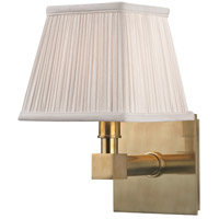 Hudson Valley Lighting Dixon 1 Light Wall Sconce in Aged Brass 4041-AGB