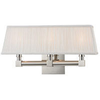 Hudson Valley Lighting Dixon 3 Light Wall Sconce in Polished Nickel 4043-PN