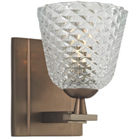 Grafton 1 Light 5 inch Brushed Bronze Bath Vanity Wall Light
