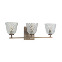Hudson Valley Lighting Grafton 3 Light Bath Vanity in Brushed Bronze 4063-BB