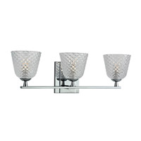 Hudson Valley Lighting Grafton 3 Light Bath Vanity in Polished Chrome 4063-PC