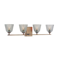 Hudson Valley Lighting Grafton 4 Light Bath Vanity in Brushed Bronze 4064-BB