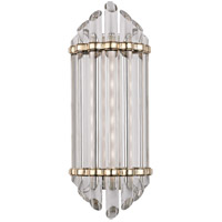 Hudson Valley 408-AGB Albion LED 7 inch Aged Brass Bath And Vanity Wall Light