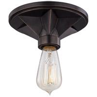 Hudson Valley 4080-OB Bethesda 1 Light 7 inch Old Bronze Semi Flush Ceiling Light