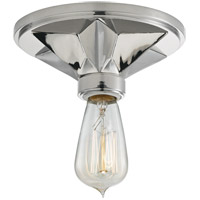 Bethesda 1 Light 7 inch Polished Nickel Semi Flush Ceiling Light