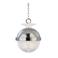 Hudson Valley Lighting Winfield 1 Light Pendant in Polished Nickel 409-PN photo thumbnail