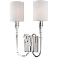 Kensington 2 Light 11 inch Polished Nickel Wall Sconce Wall Light