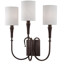 Hudson Valley Lighting Kensington 3 Light Wall Sconce in Old Bronze 4093-OB
