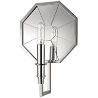 Hudson Valley Irvington 1 Light Flush Mount in Polished Nickel 4111-PN