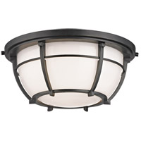 Conrad 2 Light 12 inch Old Bronze Flush Mount Ceiling Light
