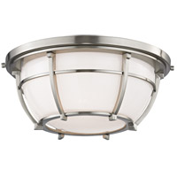 Hudson Valley Lighting Conrad 2 Light Flush Mount in Satin Nickel 4112-SN