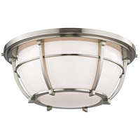Hudson Valley Lighting Conrad 3 Light Flush Mount in Satin Nickel 4115-SN