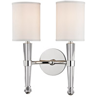 Volta 2 Light 12 inch Polished Nickel Wall Sconce Wall Light