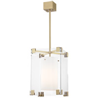Hudson Valley 4125-AGB Achilles 1 Light 13 inch Aged Brass Pendant Ceiling Light
