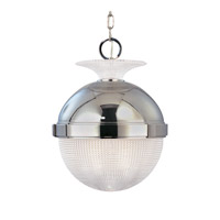 Hudson Valley Lighting Winfield 1 Light Pendant in Polished Nickel 415-PN