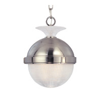 Hudson Valley Lighting Winfield 1 Light Pendant in Satin Nickel 415-SN