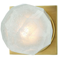 Hudson Valley 4181-AGB Nimbus LED 5 inch Aged Brass Bath Vanity Wall Light