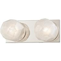 Hudson Valley 4182-PN Nimbus LED 11 inch Polished Nickel Bath Vanity Wall Light