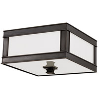 Preston 1 Light 10 inch Old Bronze Flush Mount Ceiling Light