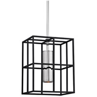 Hudson Valley LaGrange 1 Light Pendant in Polished Nickel 4212-PN