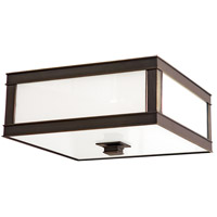 Preston 2 Light 13 inch Old Bronze Flush Mount Ceiling Light