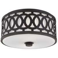 Hudson Valley Lighting Genesee 2 Light Flush Mount in Old Bronze 4314-OB