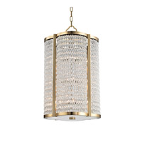 Hudson Valley Lighting Ballston 12 Light Pendant in Aged Brass 4316-AGB