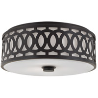 Hudson Valley Lighting Genesee 3 Light Flush Mount in Old Bronze 4317-OB
