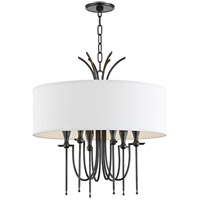 Hudson Valley 4322-OB Damaris 6 Light 22 inch Old Bronze Chandelier Ceiling Light