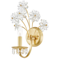 Hudson Valley 4402-AGB Beaumont 1 Light Aged Brass Wall Sconce Wall Light