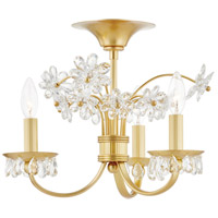 Hudson Valley 4403-AGB Beaumont 3 Light 20 inch Aged Brass Flush Mount Ceiling Light