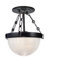 Hudson Valley 4409-OB Winfield 1 Light 11 inch Old Bronze Semi Flush Ceiling Light