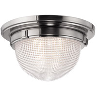 Hudson Valley Lighting Winfield 1 Light Flush Mount in Satin Nickel 4412-SN