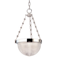 Winfield 2 Light 13 inch Polished Nickel Pendant Ceiling Light