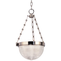 Winfield 2 Light 13 inch Satin Nickel Pendant Ceiling Light