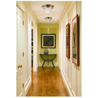Hudson Valley 4415-AGB Winfield 2 Light 15 inch Aged Brass Flush Mount Ceiling Light alternative photo thumbnail