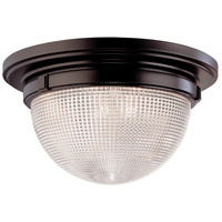 Hudson Valley Lighting Winfield 3 Light Flush Mount in Old Bronze 4418-OB