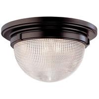 Hudson Valley 4418-OB Winfield 3 Light 18 inch Old Bronze Flush Mount Ceiling Light