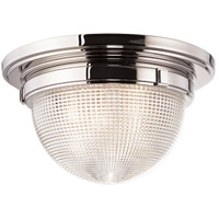 Winfield 3 Light 18 inch Polished Nickel Flush Mount Ceiling Light