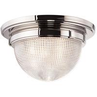 Hudson Valley 4418-PN Winfield 3 Light 18 inch Polished Nickel Flush Mount Ceiling Light