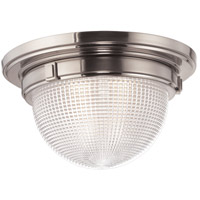 Hudson Valley Lighting Winfield 3 Light Flush Mount in Satin Nickel 4418-SN