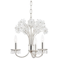 Polished Nickel Brass Beaumont Chandeliers