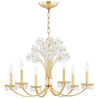 Hudson Valley 4430-AGB Beaumont 6 Light 30 inch Aged Brass Chandelier Ceiling Light